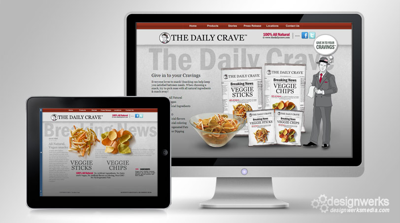 the-daily-crave-web-design